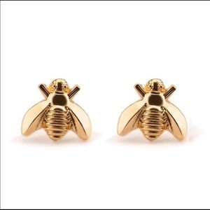 🔥NEW! Gold Dainty Bee Stud Earrings